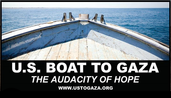 U.S. BOAT TO GAZA